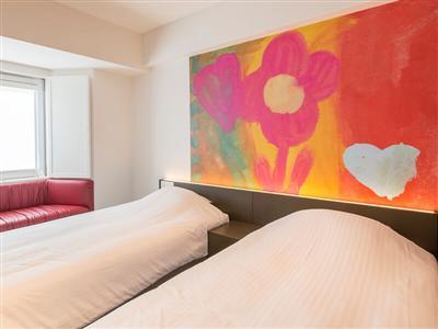 89室すべてが異なるレイアウト!個性豊かな客室