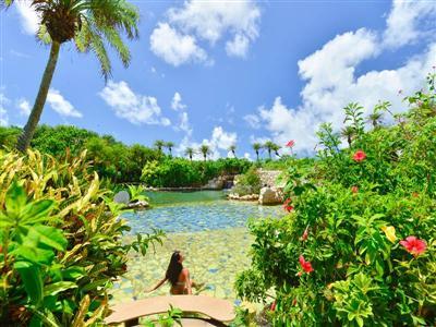 敷地内で理想のリゾート滞在を。温泉&スパで癒されよう