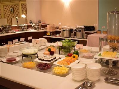 久米アイランドの朝食で1日を元気にスタート