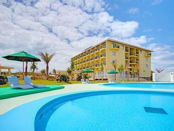 子ども用施設充実!車で行ける離島、伊計島の唯一のリゾートホテル