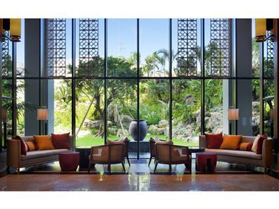ホテルのコンセプトは「沖縄の風と水を感じる」
