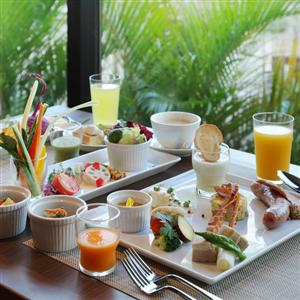 朝が待ち遠しい、魅惑の朝食。