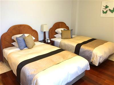 お部屋内の寝室一例