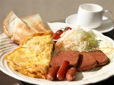 手作り朝食で元気な1日をスタート