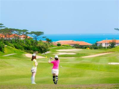 日本の端でリゾートゴルフ