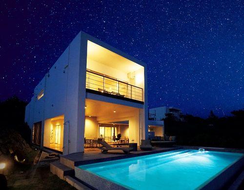 邸宅をまるごと利用できる別荘スタイル