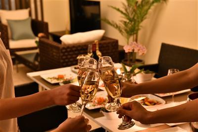 宮古島の食材を使用した料理を味わる出張シェフ