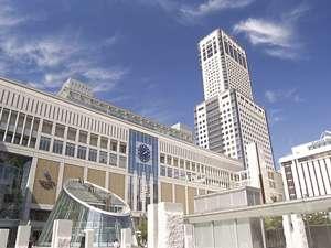 JR札幌駅直結で観光・ビジネスに最適。札幌一の眺望も楽しめる