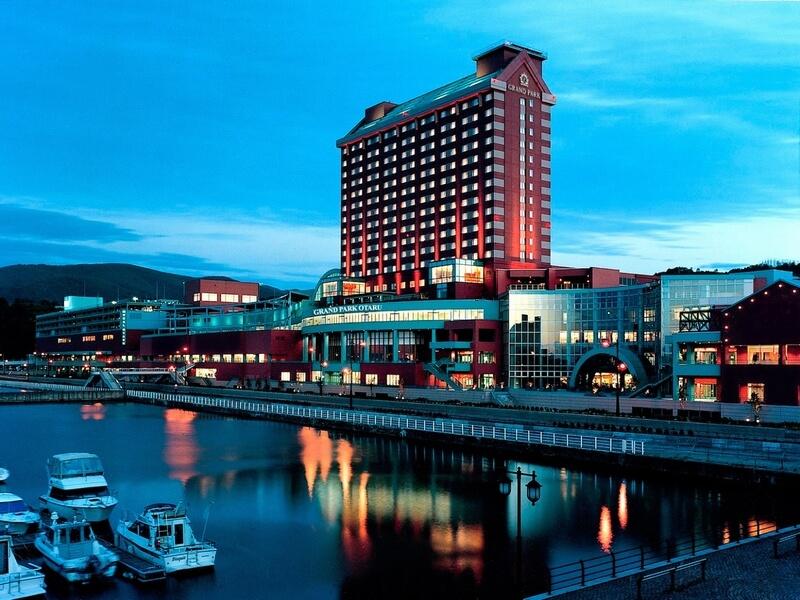 小樽港マリーナに面したインターナショナルホテル
