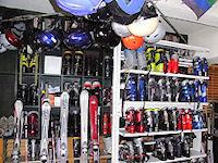 各種サイズを取り揃えているスキー&スノーボードレンタル