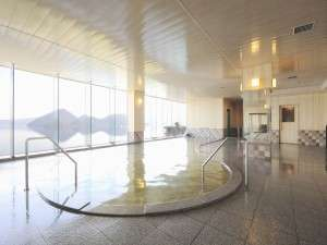 【8階星の湯】洞爺湖・羊蹄山が一望、とろーり・しっとりの美肌の湯