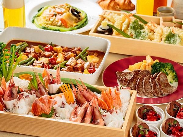 【バイキング】和洋中料理をご用意しております。