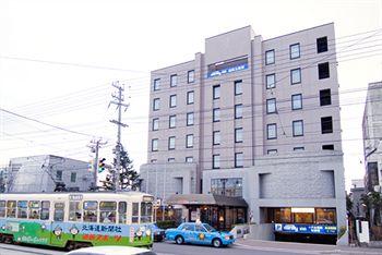市電函館五稜郭駅徒歩3分ビジネスに観光にアクセス良好なホテル