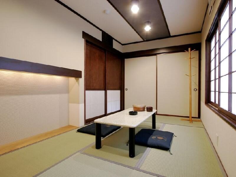和室は4.5畳~10.5畳まで人数にあわせてお選び頂けます
