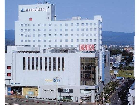 JR旭川駅から一番近いホテル、ビジネスや観光の拠点にピッタリ♪
