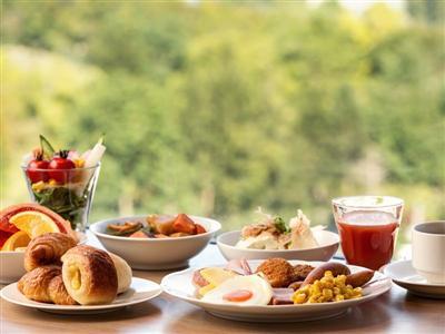 """最上階のパノラマビューと""""北海道ならでは""""の料理が楽しめる朝食"""