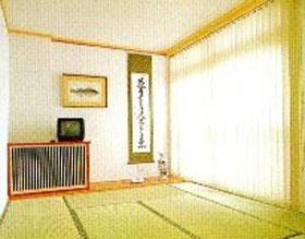 くつろぎの和室