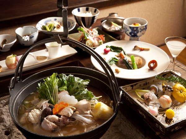 冬の北番屋の料理は心も体も温まる熱々鍋が特徴☆