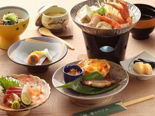 道産食材を豊富に使用した和食膳