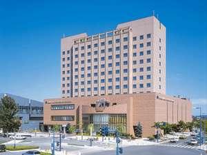 ~帯広駅に一番近いホテル~地元産食材をふんだんに使った朝食が人気