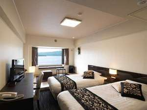 阿寒湖を雄大な景色を望むお部屋