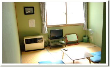 畳で寛げる和室