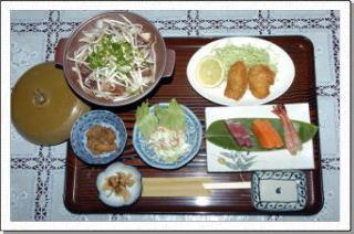 北海道グルメが豊富にそろう道東の美味しい食材を利用したお食事