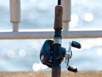 近くでは釣りも楽しめます♪