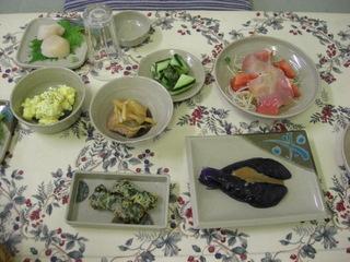 北海道の美味しい味覚が楽しめるお食事