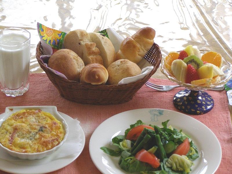 天然酵母と道産の小麦「春よこい」を使ったパン