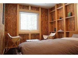 木のあたたかさを感じるお部屋です。