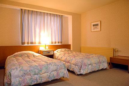 清潔感溢れる客室は、快適な宿泊が楽しめる