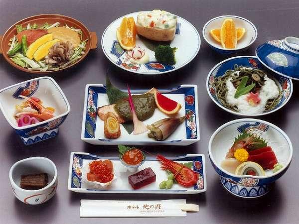 【夕食一例】北海道の自然の恵みがたっぷり!