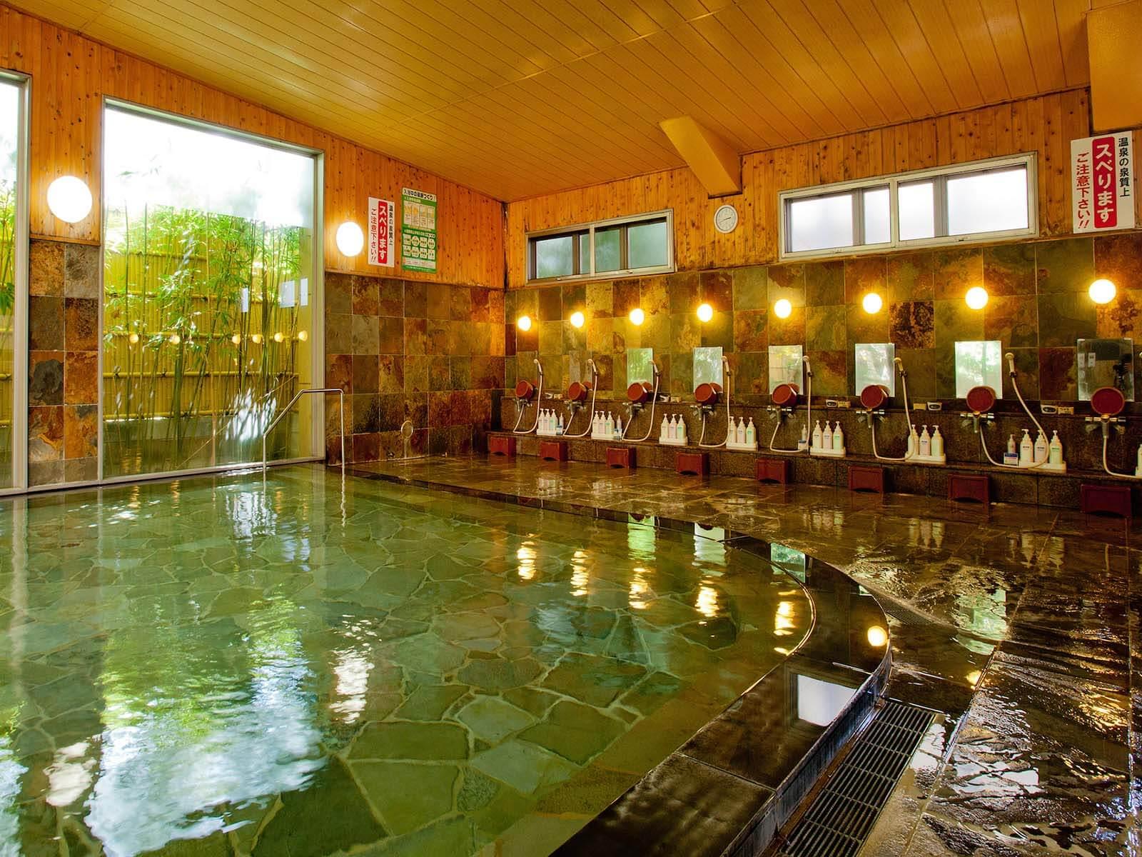 山鹿・平山で内湯が自慢の温泉旅館