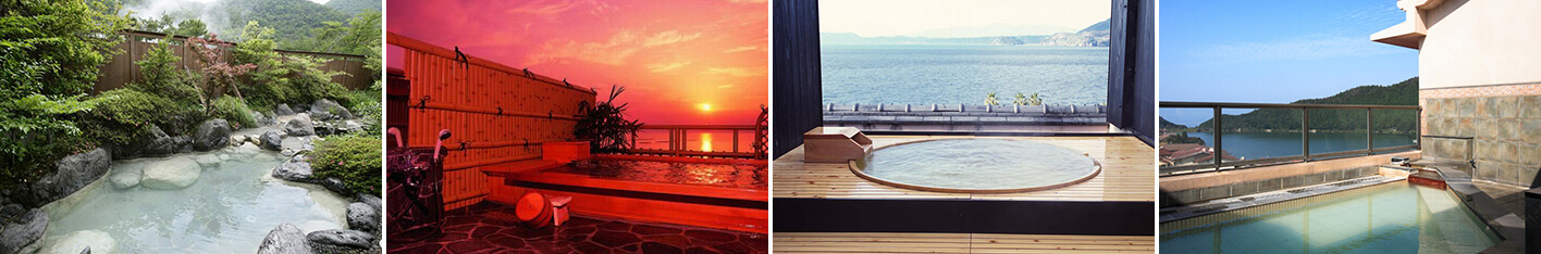雲仙・小浜で露天風呂が自慢の温泉旅館5選