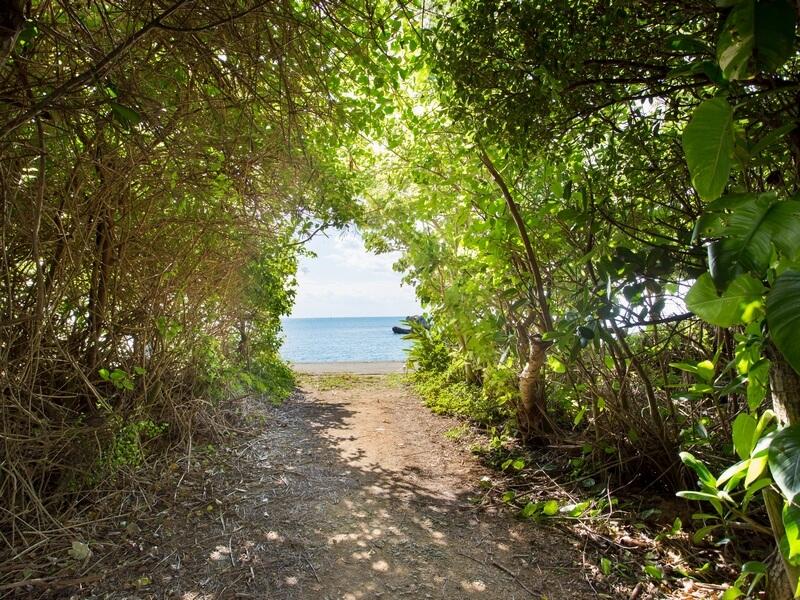 プライベートビーチ付き。南城市にある癒しの宿