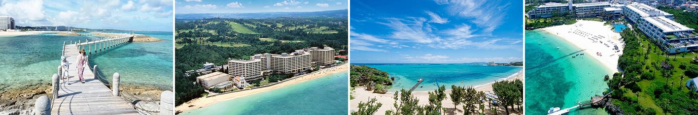 青い海、白い砂浜が目の前!ビーチが自慢の沖縄リゾートホテル5選