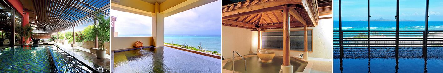 旅の疲れを癒す温泉付きで人気の沖縄ホテル5選