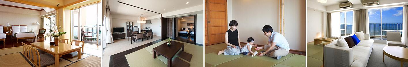 和室・和洋室のある沖縄リゾートホテル5選